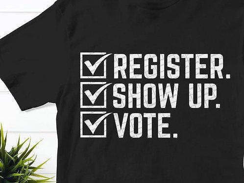 Voters Registration Graphic Tee (Unisex)