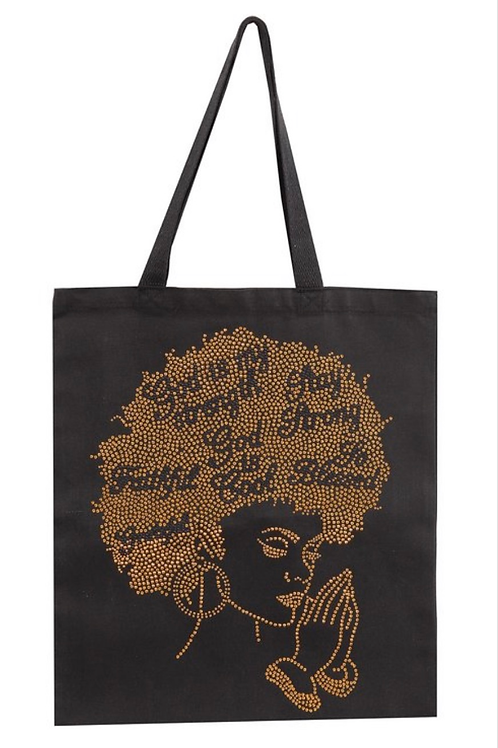 God Is My Stregnth Tote