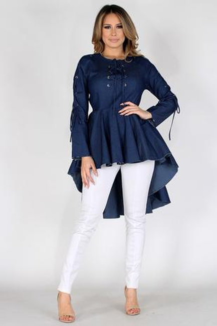 Denim Statement Tunic