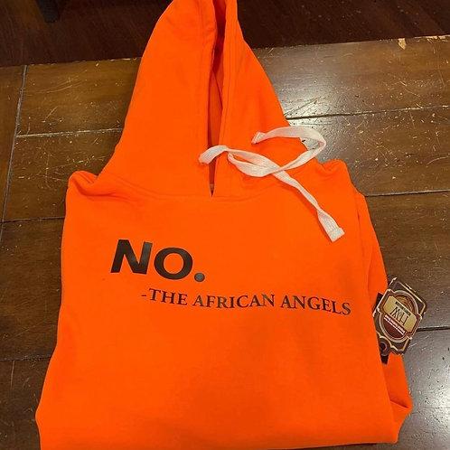 No- The African Angels Hoodie (Hoodie)