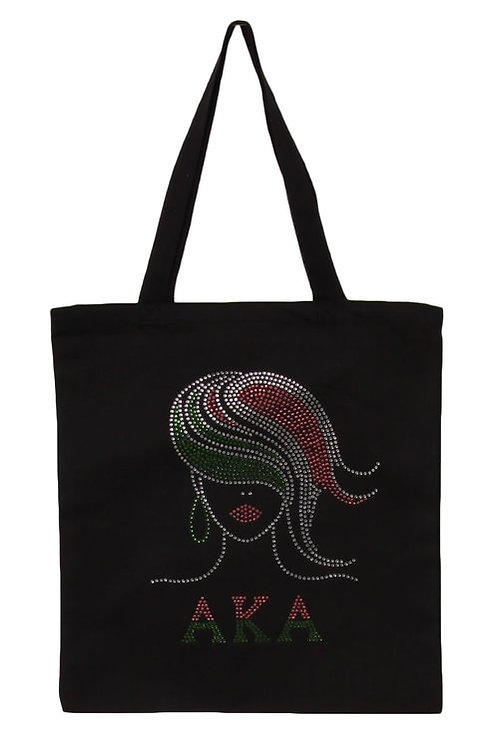 Graphic Bling Tote