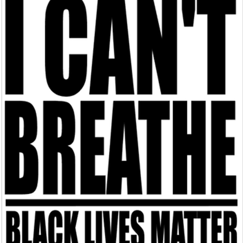 """""""I Can't Breathe"""" Graphic Tee (Unisex)"""