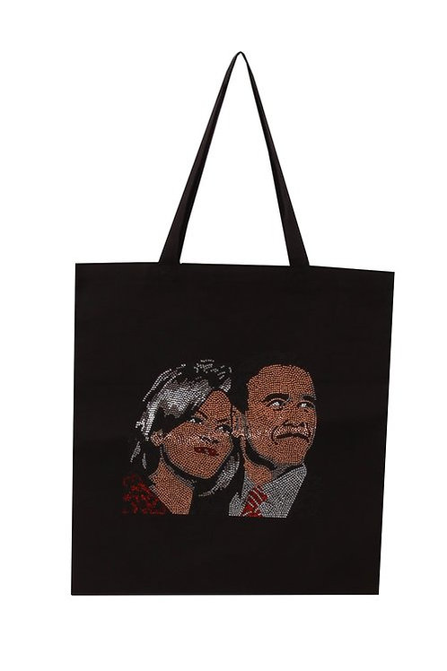 The Obama's Graphic Tote