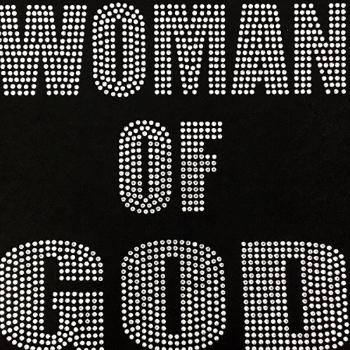 Woman Of God Bling Tee