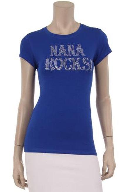 Nana Rocks Bling Tee