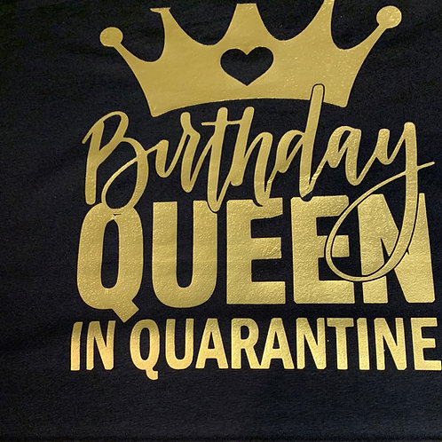 Birthday Queen Graphic Tee