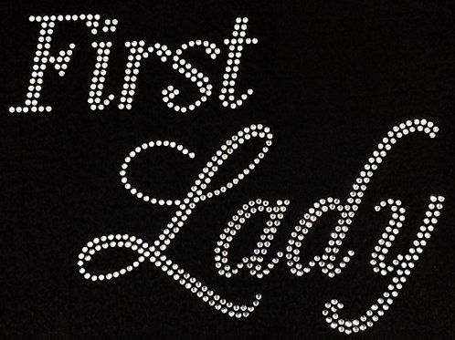 First Lady Bling Tee