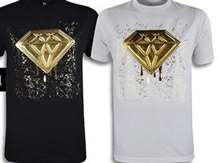 DIAMOND FOIL MENS TEE