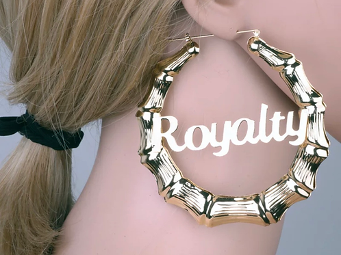 Royalty Bamboo Earrings