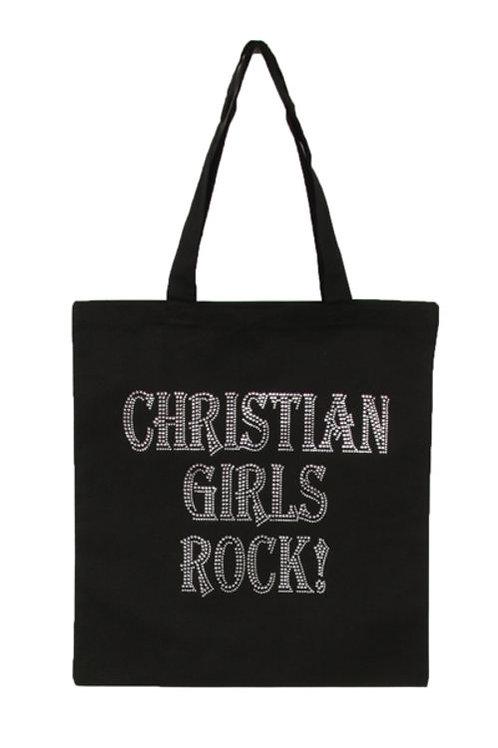 Christian Girl Rock Tote