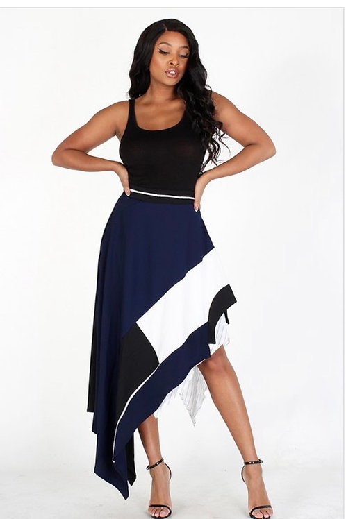 Asymetrical Statment Skirt