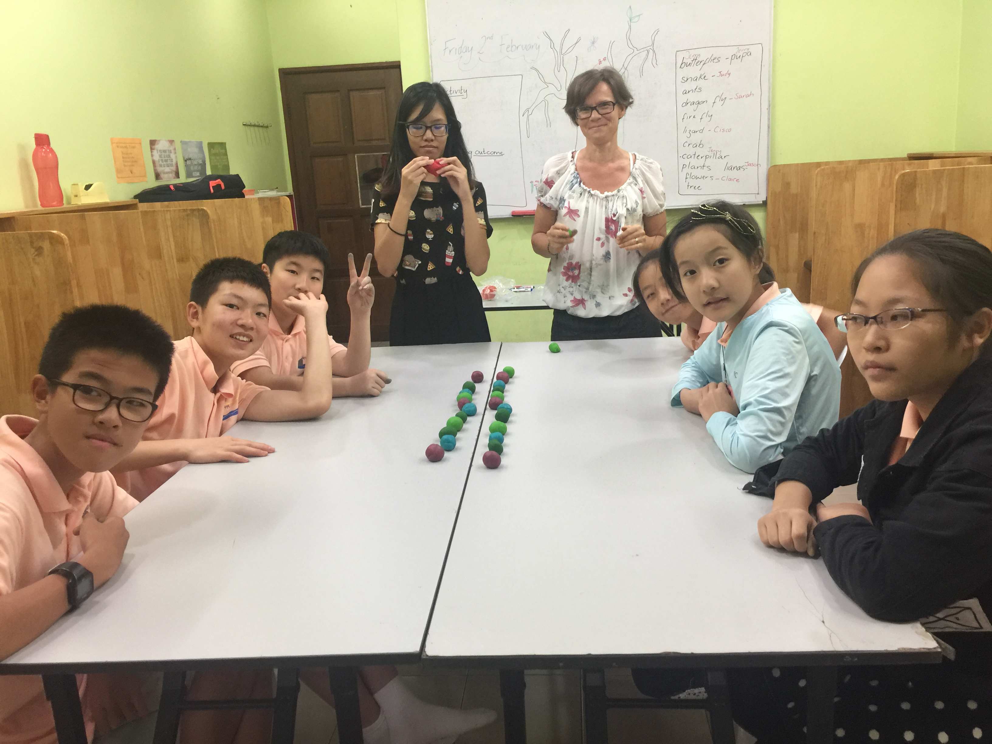 Play-Dough English Activity