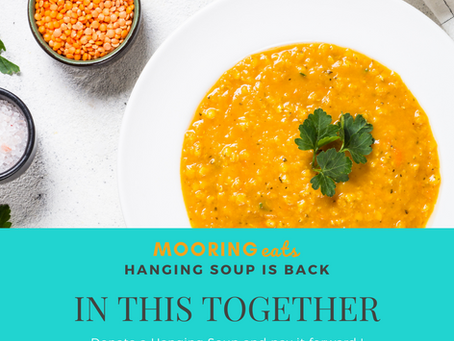 Hanging Soup - Paying it Forward