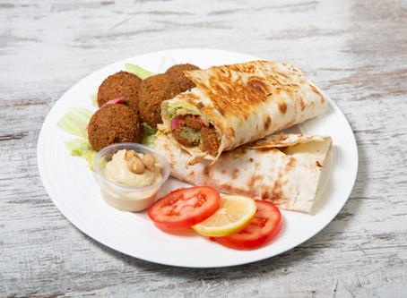 Introducing the Falafel Wrap