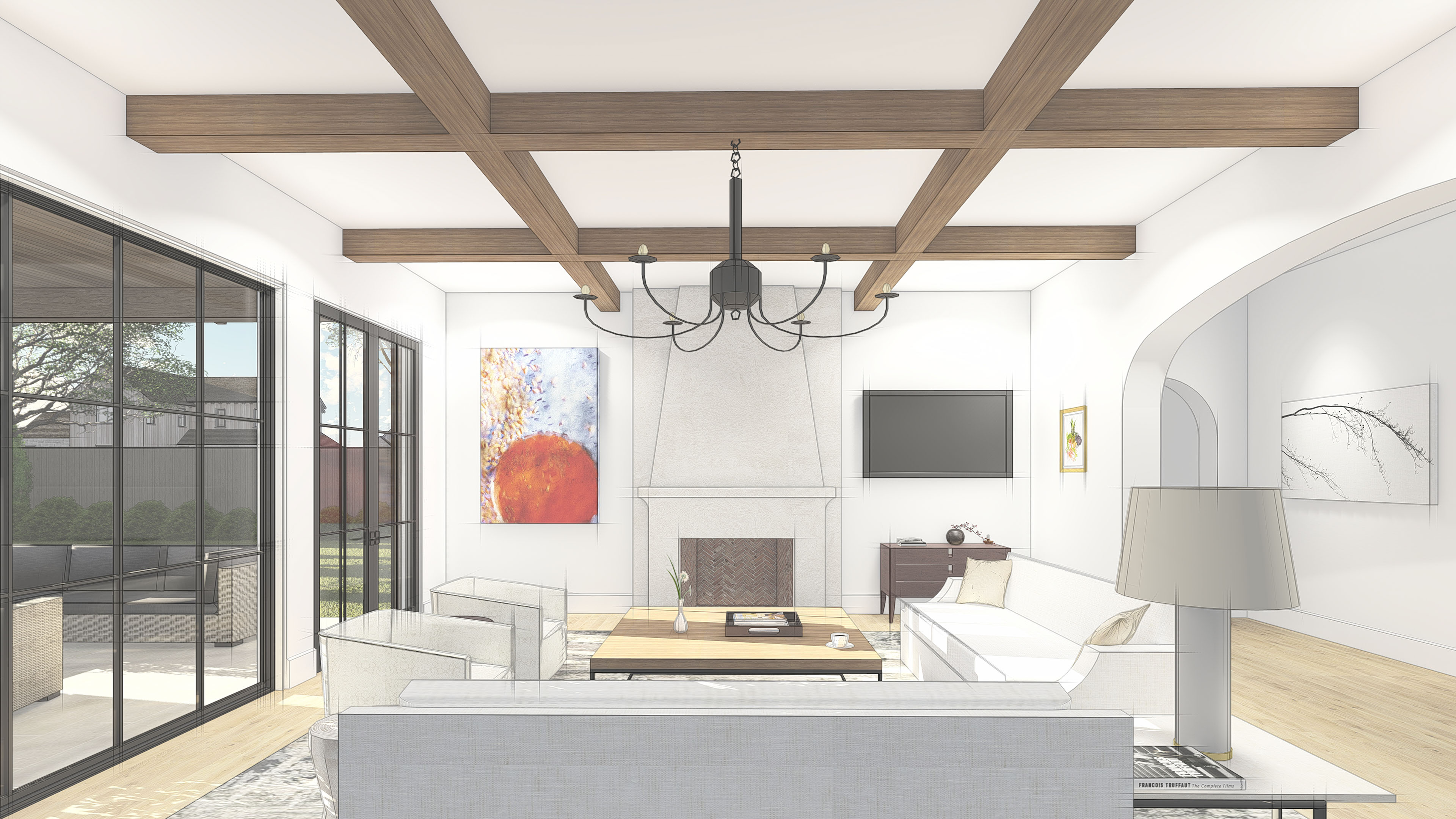 17120_LH Lavendale_Great Room Render