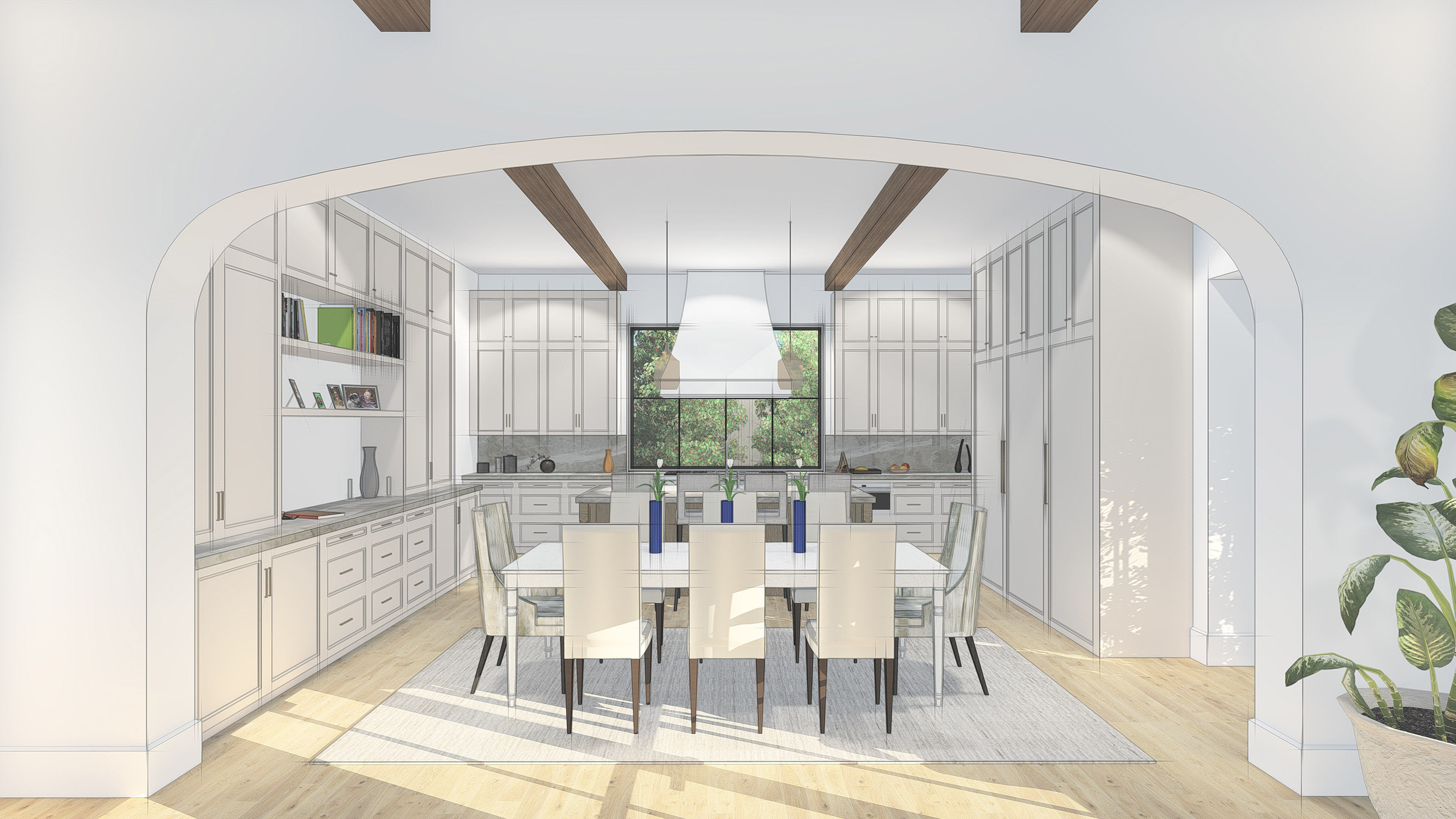 17120_LH Lavendale_Kitchen Render