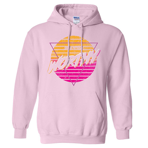 Special Edition  Pink Worthy hoodie