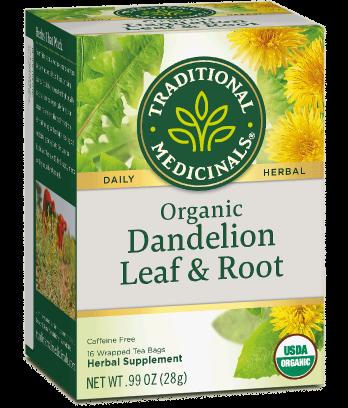 Traditional Medicinals, Dandelion Leaf Roots