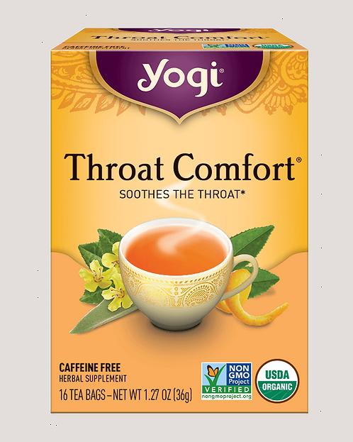 Yogi, Throat Comfort