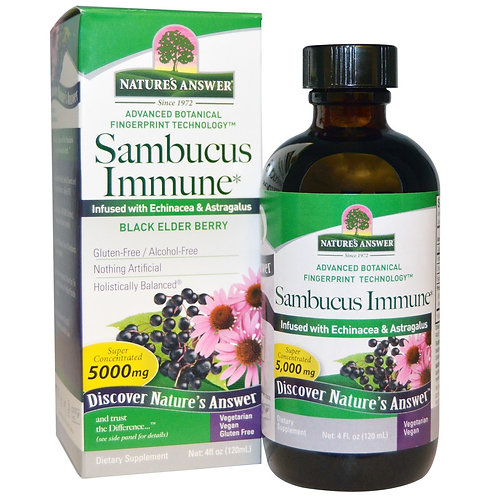 Natures Answere, Sumbucus Immune