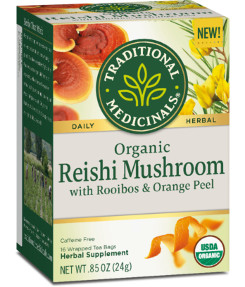 Reishi Mushroom with Rooibos & Orange Peel