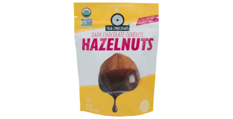 Taza Chocolate Covered Hazelnuts