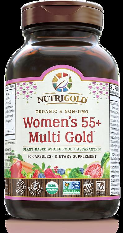NutriGold, Women's 55+ Multi 60 Caps