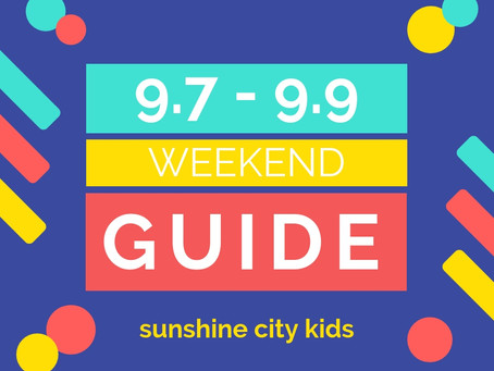 Weekend Guide: September 7 - 9