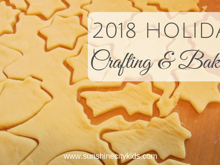 Holiday Crafting and Baking in St. Petersburg