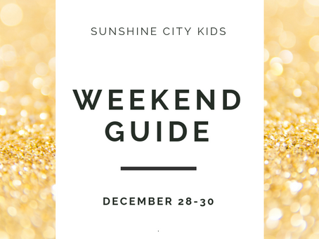 Weekend Guide: December 28-30