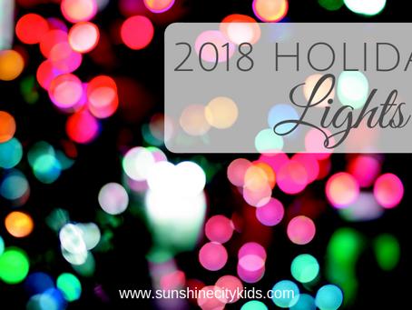 2018 Holiday Light Displays in St. Petersburg