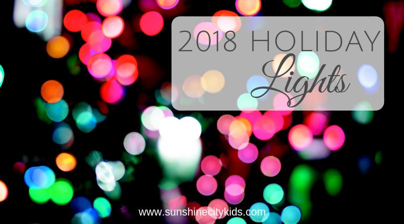 St. Petersburg Tampa Bay Holiday Christmas Lights