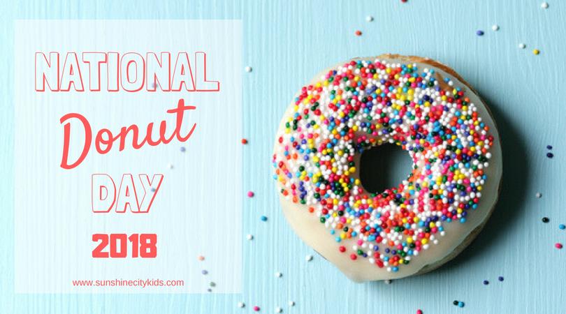 National Donut Day St. Petersburg FL doughnut