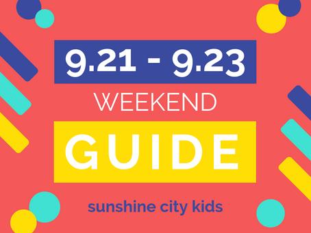 Weekend Guide: September 21 - 23