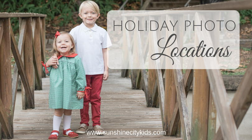 Holiday Photo Locations St. Petersburg Florida
