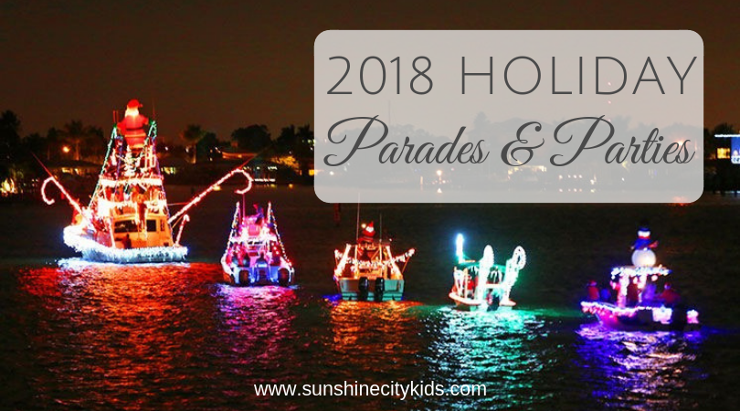 St. Petersburg Holiday Christmas Parades Parties