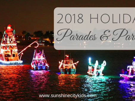 Holiday Parties & Parades in St. Petersburg