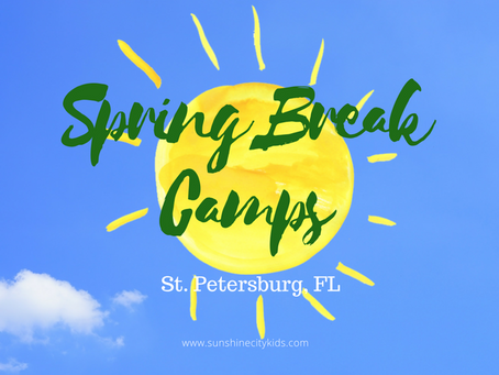 Spring Break Camps 2018