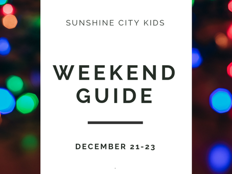 Weekend Guide: December 21-23
