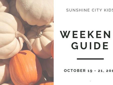 Weekend Guide: October 19 - 21
