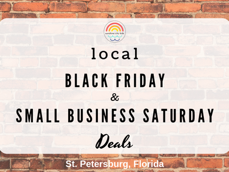 Shop Local: Black Friday and Small Business Saturday in St. Petersburg