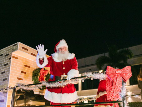 2019 Holiday Parades around St. Petersburg