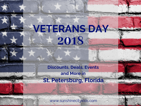 Veterans Day 2018: Discounts, Deals and Events in St. Petersburg, Florida