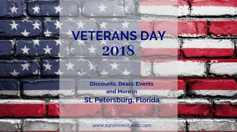 Veterans Day St. Petersburg, Florida