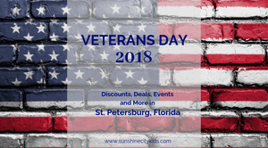 Veterans Day St. Petersburg, Florida