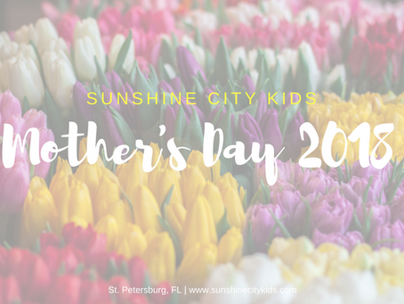 2018 Mother's Day in St. Petersburg!