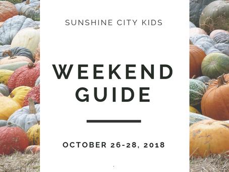 Weekend Guide: October 26-28