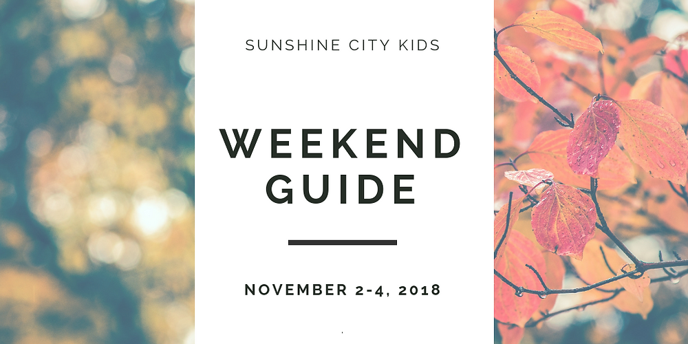 Weekend Guide Sunshine City Kids St. Petersburg Florida
