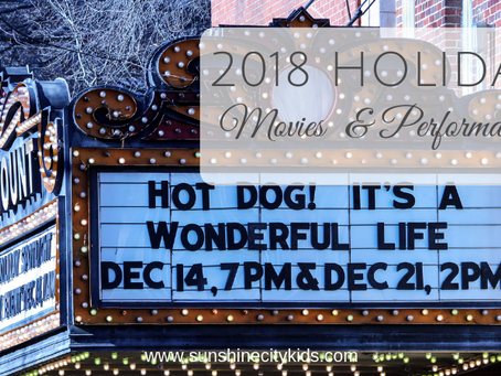 Holiday Movies and Performances in St. Petersburg