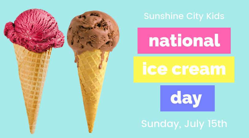 National Ice Cream Day St. Petersburg, Florida
